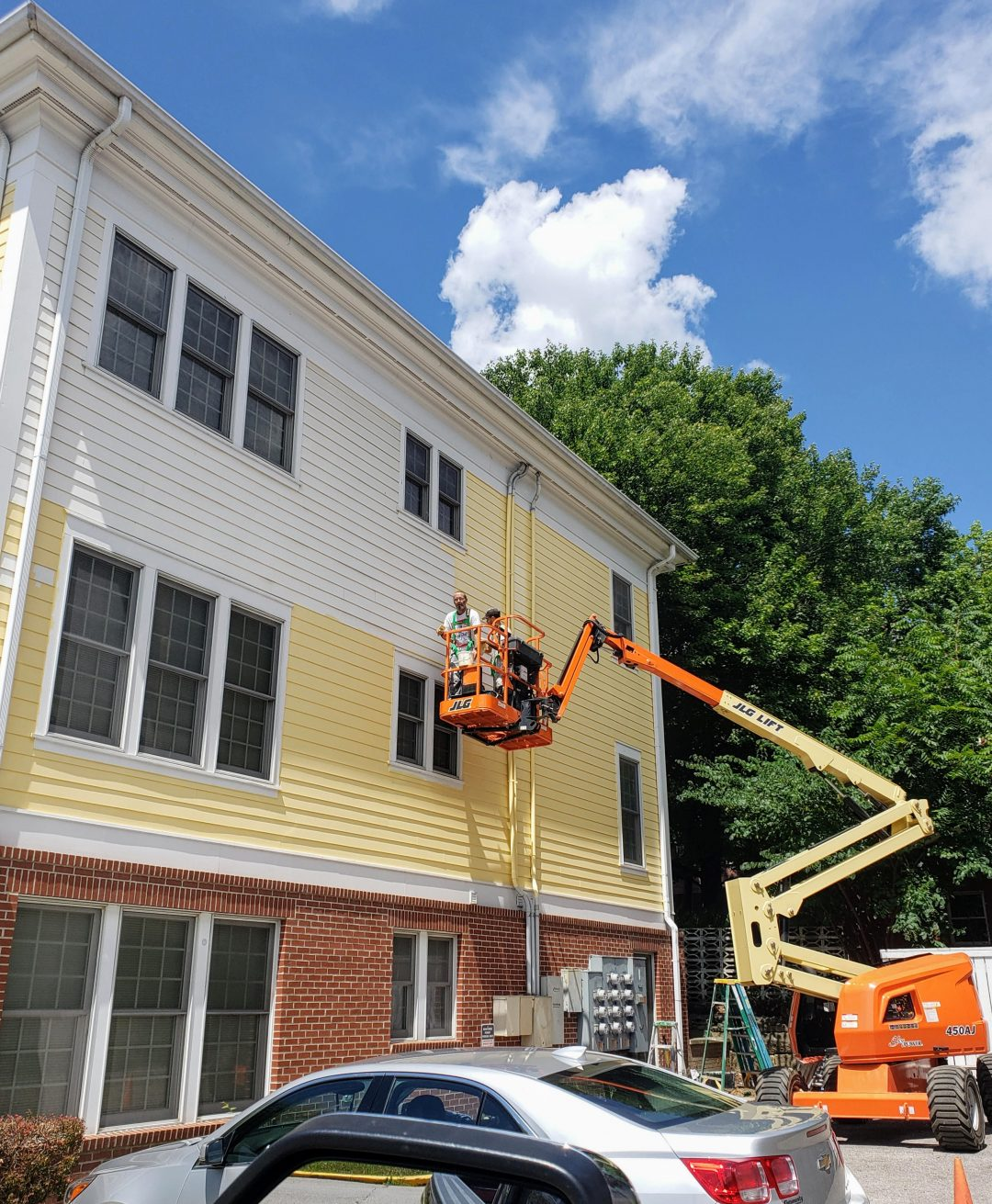 Commercial Painting - The Manor by Omega Properties in Bloomington, Indiana